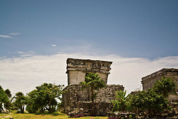 Solidity Photograph - Talum Ruins11 by Douglas Barnett