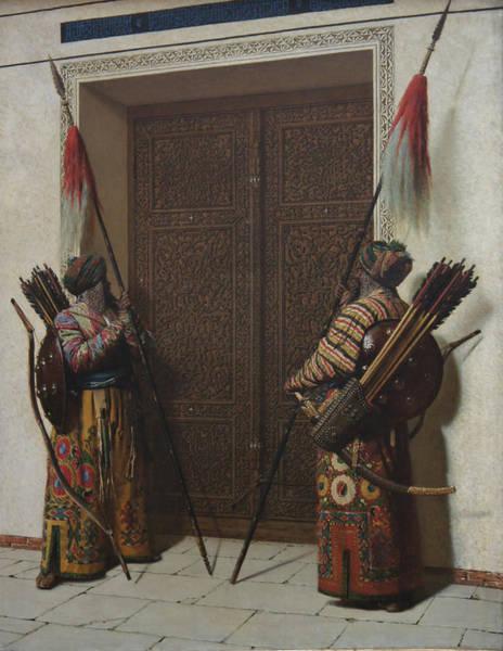 Tamerians Doors Art Print by Vasily Vereshchagin