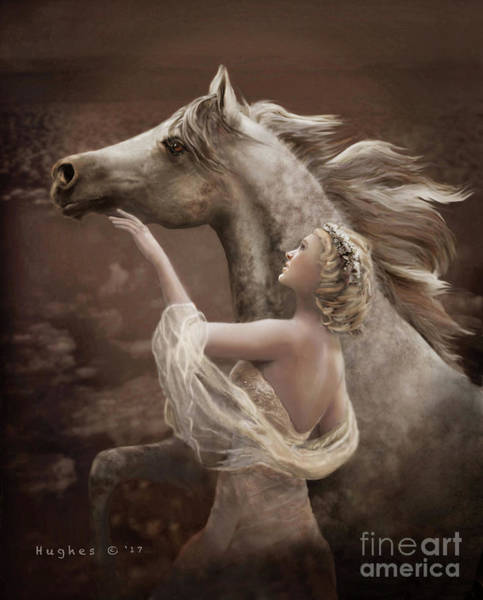 Digital Art - Taming The Wild Spirit by Melinda Hughes-Berland