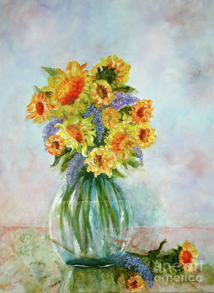 Painting - Tammy's Bouquet by Tamyra Crossley