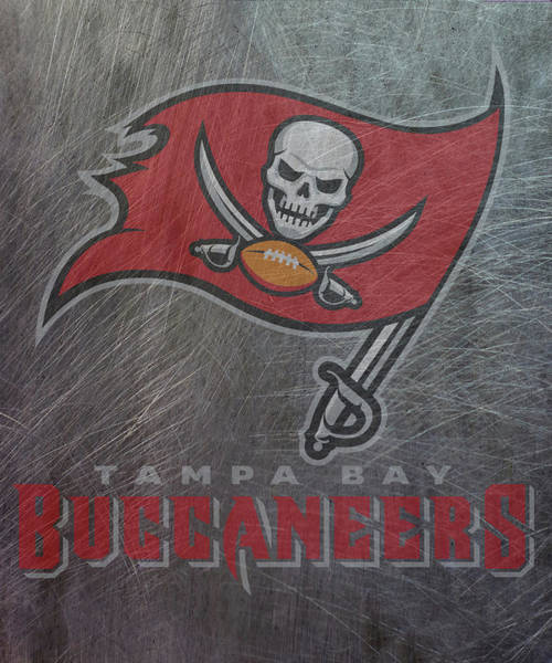 Mixed Media - Tampa Bay Buccaneers Translucent Steel by Movie Poster Prints