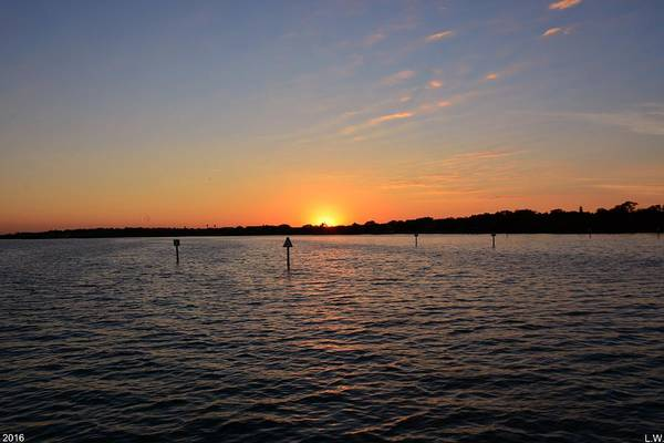 Photograph - Tampa Bay Sunset by Lisa Wooten