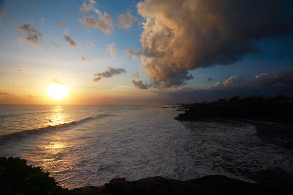 Wall Art - Photograph - Tanah Lot Sunset by Mike Reid