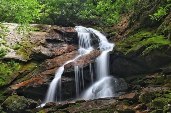 Photograph - Upper Dill Falls by Chris Berrier