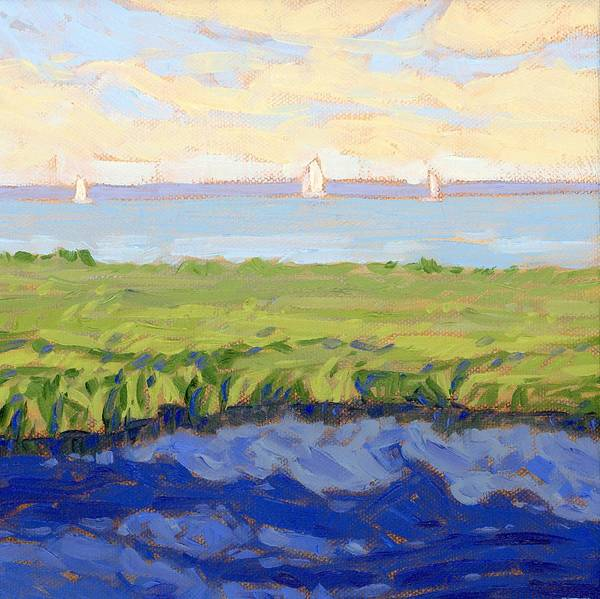 Wall Art - Painting - Taneyhill Bayside by Tom Taneyhill