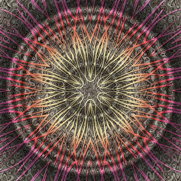 Tangendental Meditation Art Print