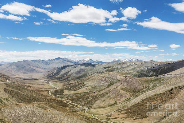 Photograph - Tanglang La Pass In Ladakh, India,  by Didier Marti