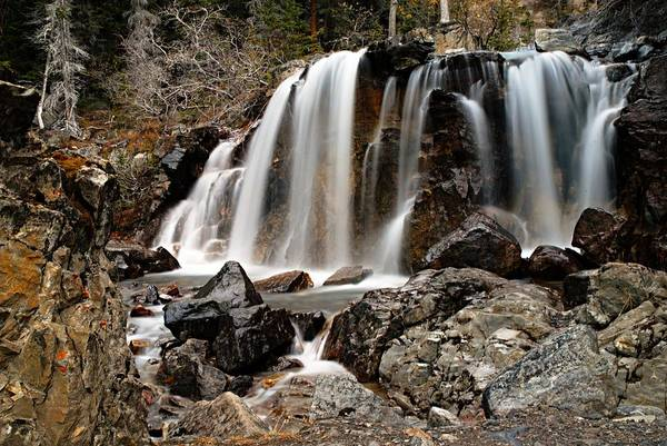 Photograph - Tangle Falls Closeup 5 by Larry Ricker