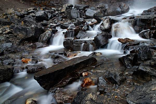 Photograph - Tangle Falls Closeup 8 by Larry Ricker