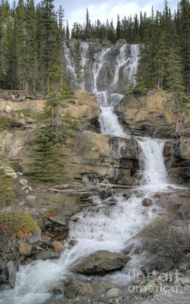 Photograph - Tangle Falls by David Birchall