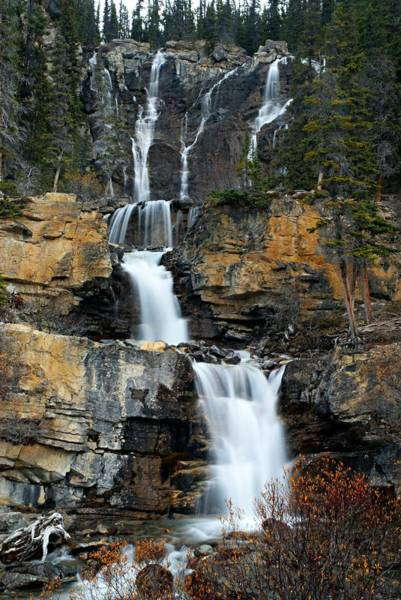 Photograph - Tangle Falls by Larry Ricker