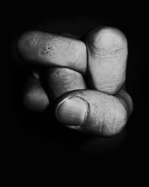Hands Photograph - Tangled Fist by Nicklas Gustafsson