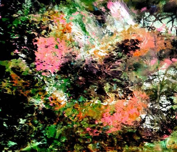 Painting - Tangled Garden by Nikki Dalton