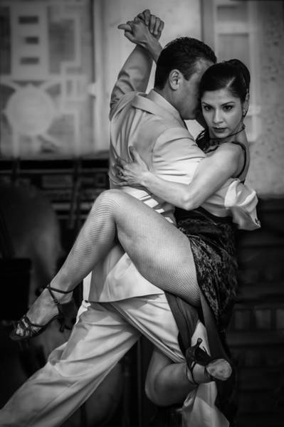Photograph - Tangled In Tango by James Woody