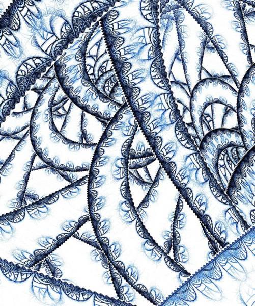 Digital Art - Tangled Lace by Anastasiya Malakhova