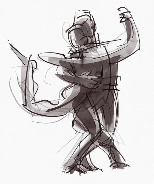 Painting - Tango #25 by Judith Kunzle