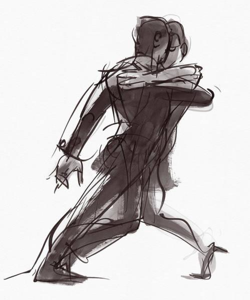 Painting - Tango #27 by Judith Kunzle