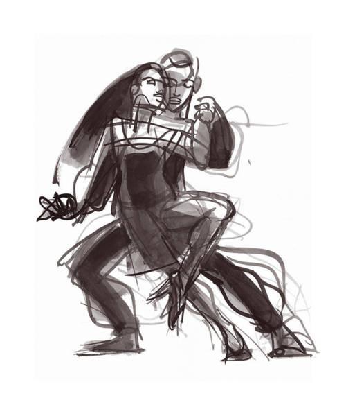 Painting - Tango #35 by Judith Kunzle