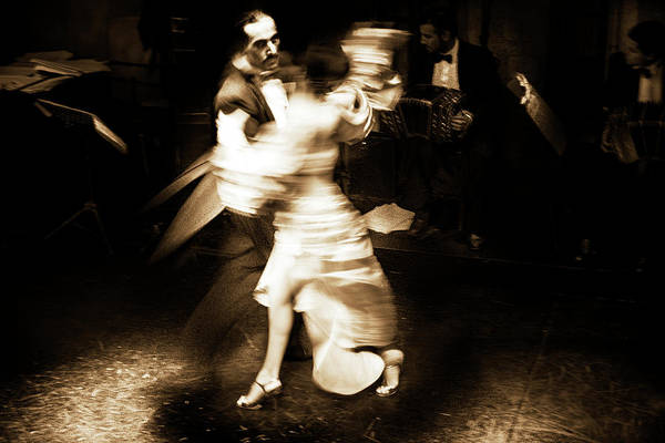Photograph - Tango Couple #1 by David Chasey