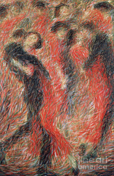 Wall Art - Painting - Tango by Giuseppe Cominetti