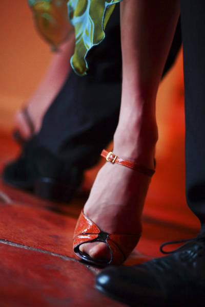 Tango Toes Art Print