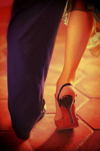 Tango Together Art Print