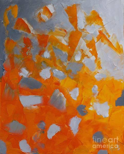 Painting - Tangy Rocks 1 by Preethi Mathialagan