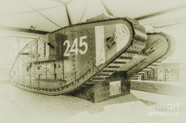 Mark Iv Wall Art - Photograph - Tank 245  by Rob Hawkins