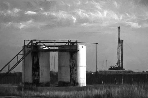 Photograph - Tank Battery by Jonas Wingfield