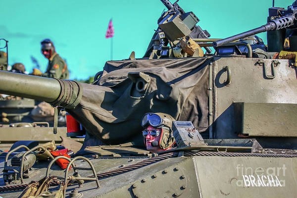 Photograph - Tank Driver by Tom Claud