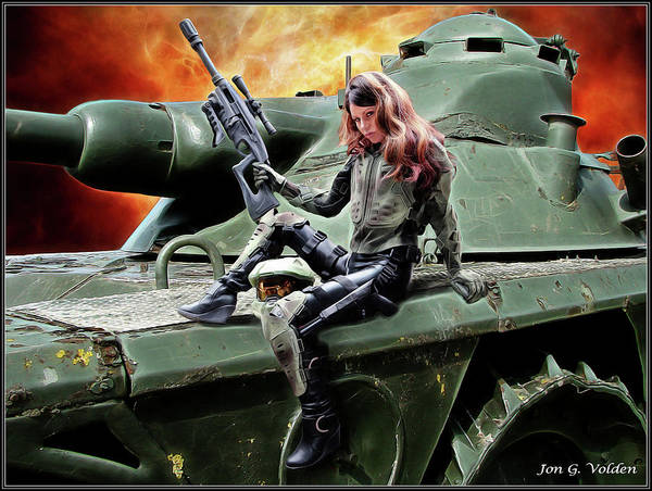 Photograph - Tank Warrior by Jon Volden