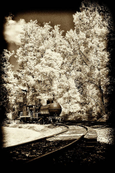 Photograph - Railroad Tanker Car On Siding by Paul W Faust - Impressions of Light