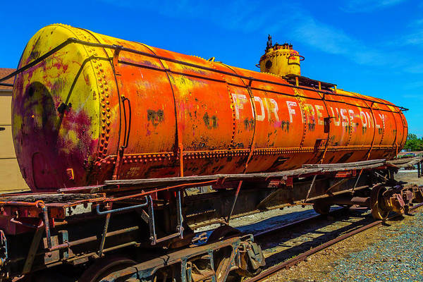 Wall Art - Photograph - Tanker For Fire Use Only by Garry Gay