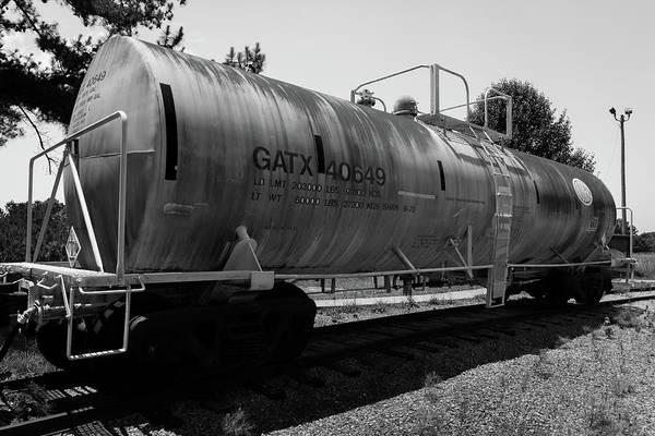 Photograph - Tanker by James L Bartlett