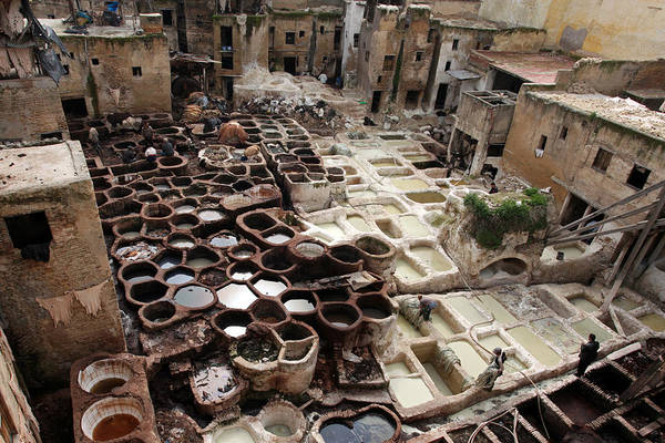Photograph - Tanneries by Aivar Mikko