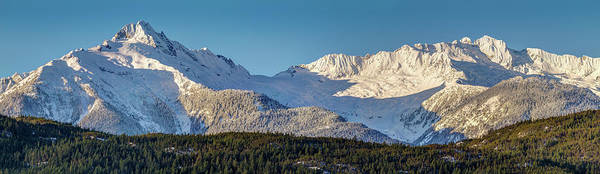 Photograph - Tantalus Mountain Range Panorama by Pierre Leclerc Photography