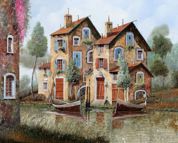 Wall Art - Painting - Tante Finestre by Guido Borelli