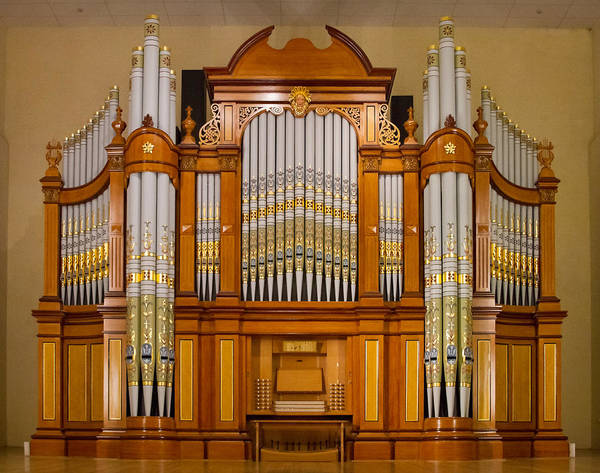 Photograph - Tanunda Pipe Organ by Jenny Setchell