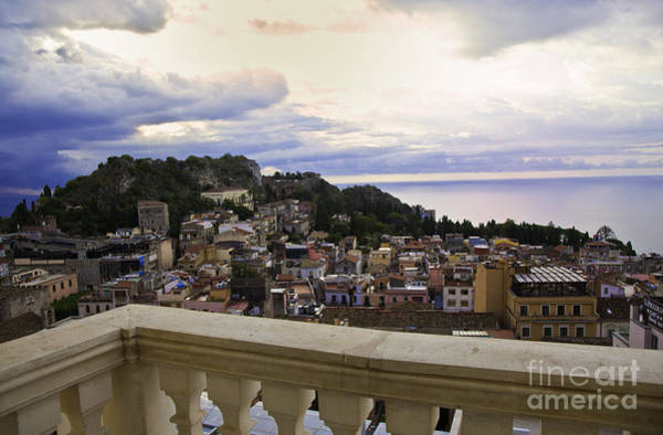 Wall Art - Photograph - Taormina Balcony View 2 by Madeline Ellis
