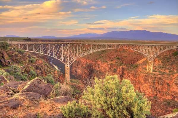 Wall Art - Photograph - Taos Bridge by David Ross