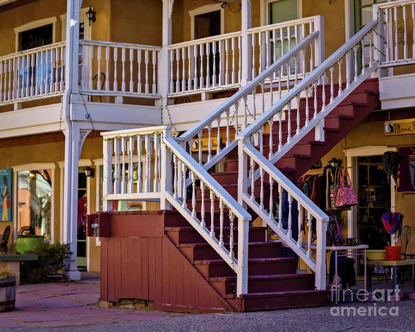 Photograph - Taos Shopping by Jon Burch Photography
