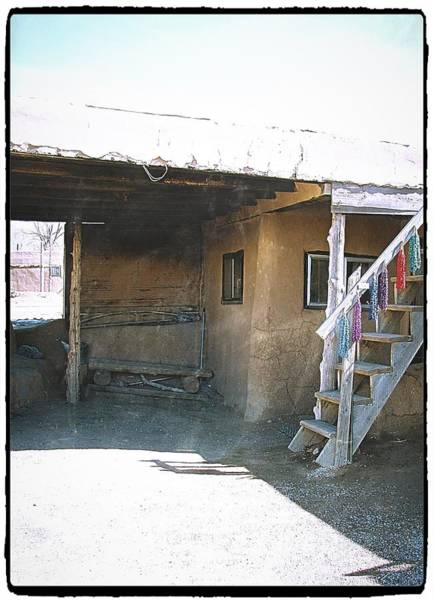 Photograph - Taos Something In The Light 11 by Mario MJ Perron