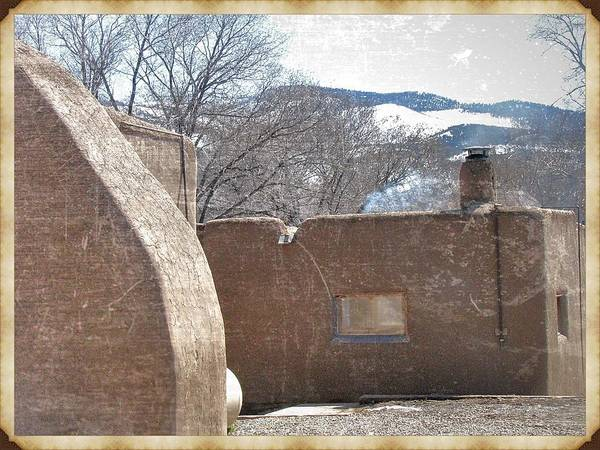Photograph - Taos Something In The Light 3 by Mario MJ Perron