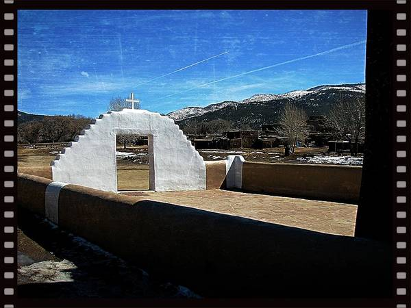 Photograph - Taos Something In The Light 5 by Mario MJ Perron