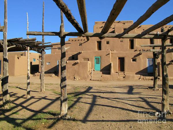 Wall Art - Photograph - Taos Trellis by Nieves Nitta