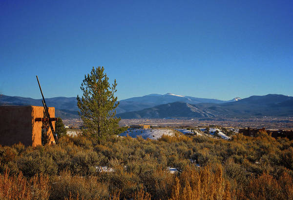 Photograph - Taos Valley by Charles Muhle