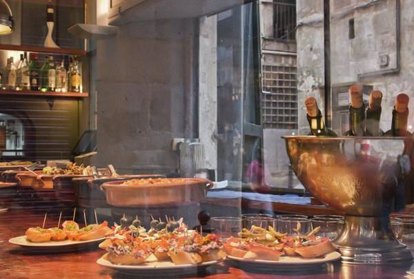 Photograph - Tapas Bar In Barcelona by Tatiana Travelways