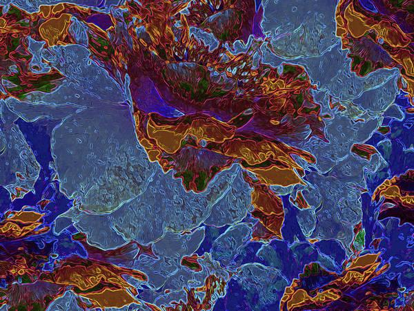 Digital Art - Tapestry 3 by Lynda Lehmann