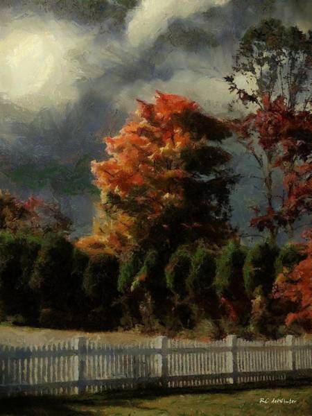 Painting - Tapestry Of Clouds by RC DeWinter