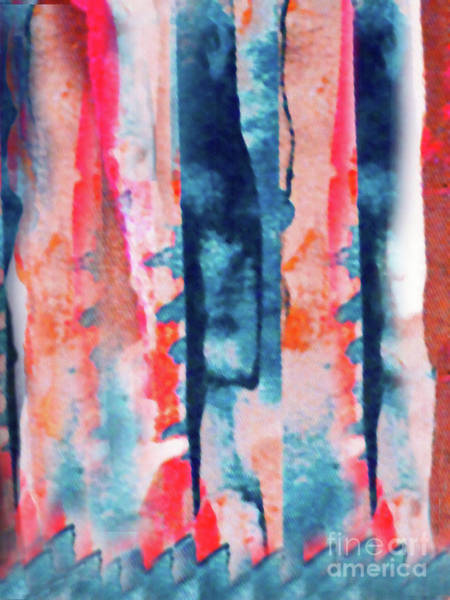Variation Mixed Media - Tapestry Series Iv by Sharon Williams Eng